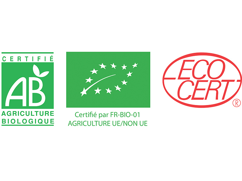 Certification by Ecocert