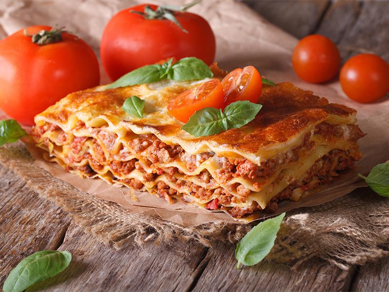 Quelle est l'origine de la lasagne ?